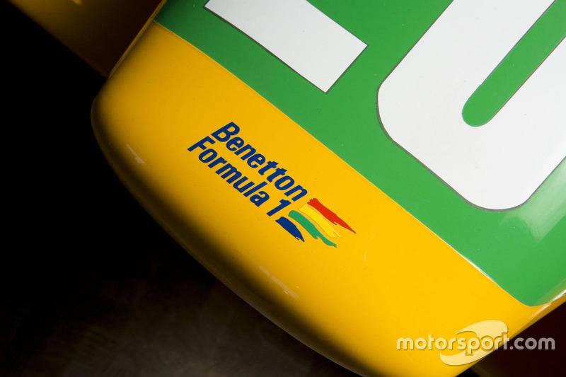 Benetton B191, detail