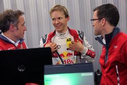 Daniel Grunwald, Mattias Ekström, Stefan Gugger, Audi