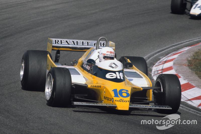 Renault 1980: René Arnoux, Renault RE20