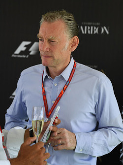 Sean Bratches, Formula One Managing Director, Commercial Operations at a Carbon Champagne Media Reception