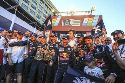 Stéphane Peterhansel, Jean-Paul Cottret, Sébastien Loeb, Daniel Elena, Cyril Despres, David Castera, Bruno Famin, Peugeot Sport