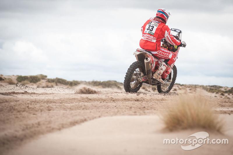 #33 Himoinsa Racing Team, KTM: Antonio Gimeno