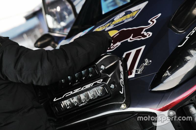 Detalle de Sébastien Ogier, Julien Ingrassia, M-Sport, Ford Fiesta WRC