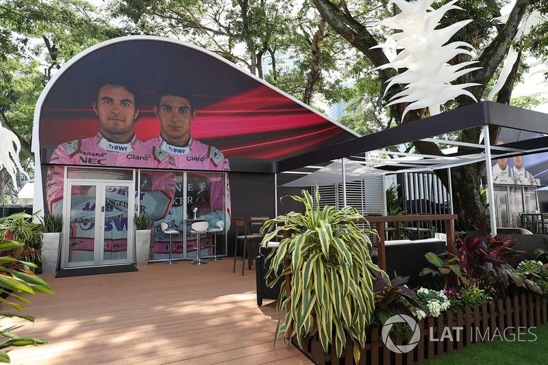 Sahara Force India: Teamquartier