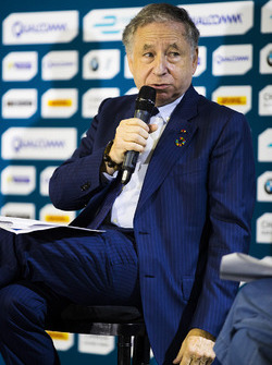 Jean Todt in the press conference