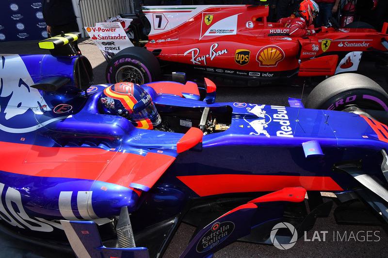 7 місце — Карлос Сайнс, Toro Rosso. Умовний бал — 16,283