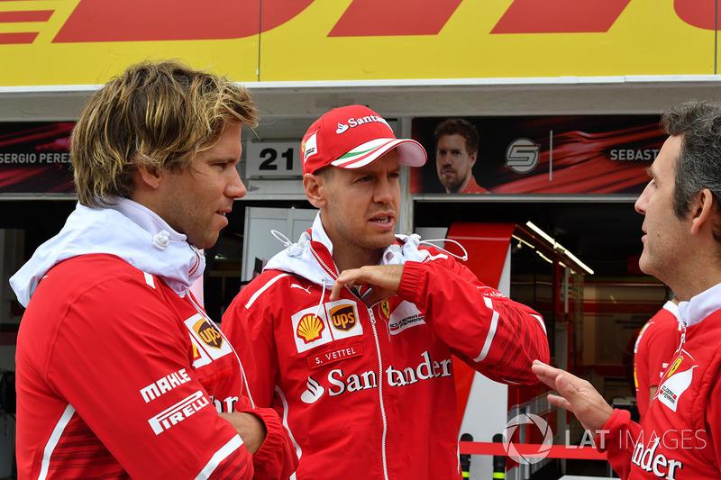 Себастьян Феттель, Ferrari, його тренер Антті Контссас