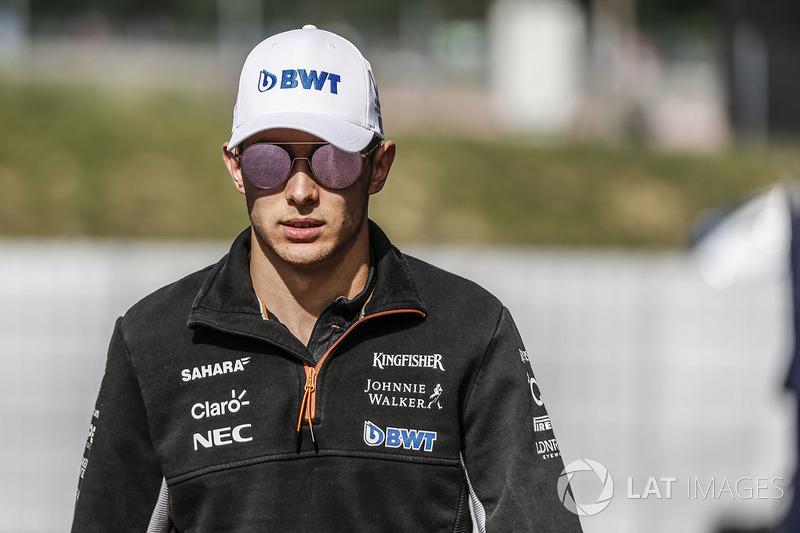 Естебан Окон, Sahara Force India F1