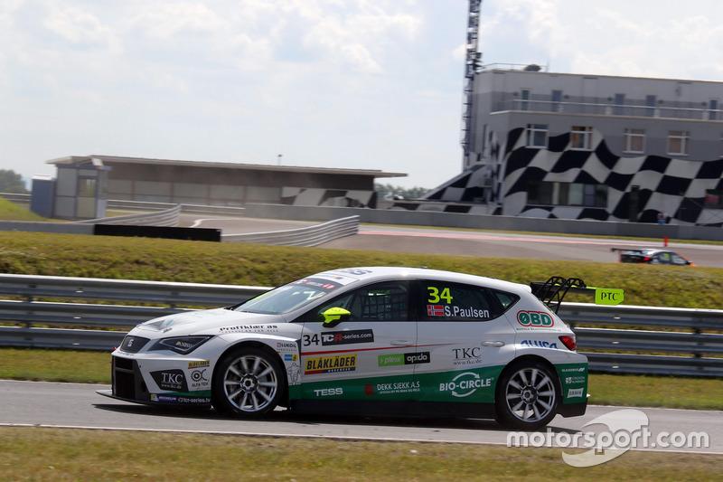 Стіан Поульсен, Stian Paulsen Racing, SEAT León TCR