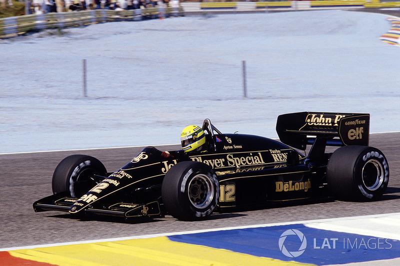 17. Франція-1986, Ле-Кастелле: Айртон Сенна, Lotus 98T - 1.06,526