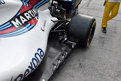 Willianms FW40 side detail