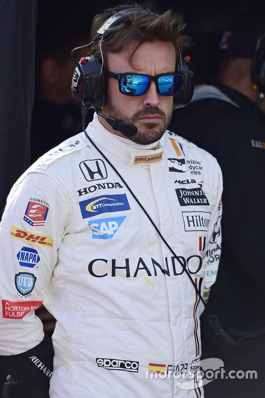 Fernando Alonso, Andretti Autosport Honda
