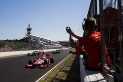 Il vincitore della gara Charles Leclerc, PREMA Racing