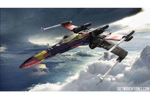 Diseños de Star Wars F1 X-Wing