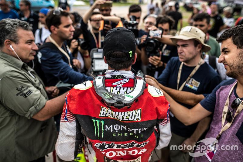 Joan Barreda, Monster Energy Honda Team