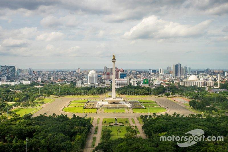 Annonce de la course de Jakarta