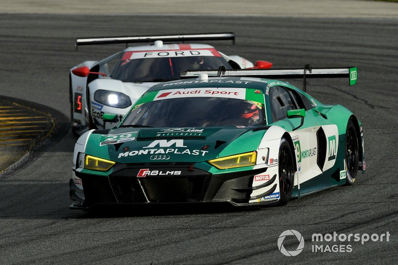 #29 Montaplast by Land Motorsport Audi R8 LMS: Daniel Morad, Christopher Mies, Dries Vanthoor, Ricky Feller.
