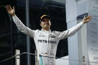 Nico Rosberg, Mercedes AMG, 2nd Position