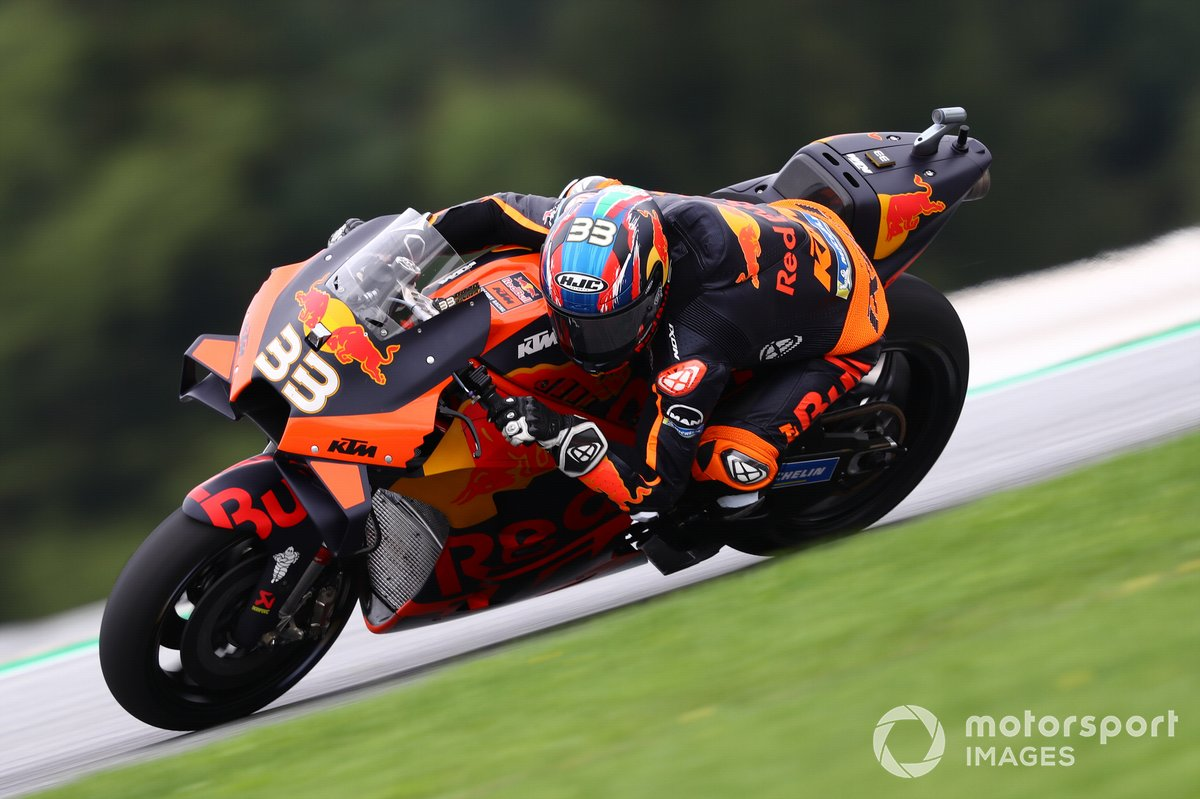 P17 Brad Binder, Red Bull KTM Factory Racing