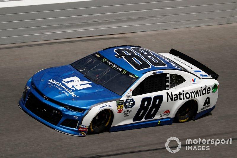 2. Alex Bowman, Hendrick Motorsports, Chevrolet Camaro Nationwide