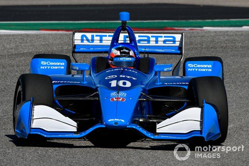 #10: Felix Rosenqvist, Chip Ganassi Racing, Honda