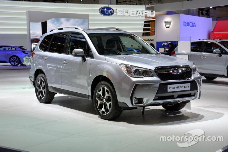 Subaru Forester четвертої генерації, роки виробництва: 2012–2018.