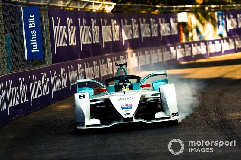 Tom Dillmann, NIO Formula E Team, NIO Sport 004, locks up