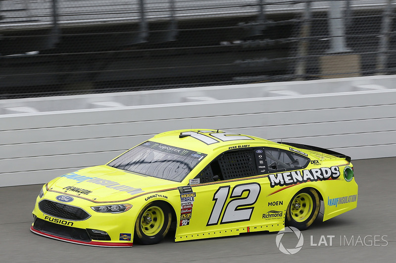 8. Ryan Blaney, Team Penske, Ford Fusion Menards/Knauf Insulation