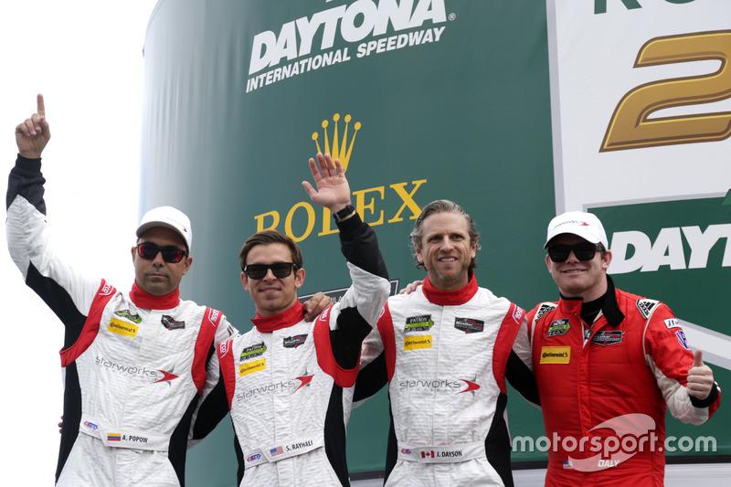 #88 Starworks Motorsport ORECA FLM09: Scott Mayer, James Dayson, Alex Popow, Sebastian Saavedra, Conor Daly