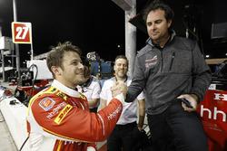 Marco Andretti, Andretti Autosport, Honda, mit Bryan Herta, Andretti Autosport