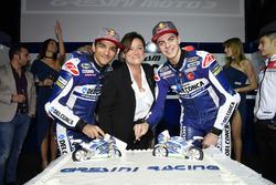 Jorge Martín, Gresini Racing Team and Fabio Di Giannantonio, Gresini Racing Team with guests
