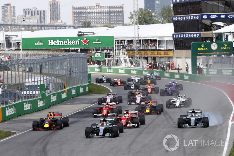 Льюіс Хемілтон, Валттері Боттас, Mercedes AMG F1 W08, Себастьян Феттель, Ferrari SF70H, Макс Ферстап
