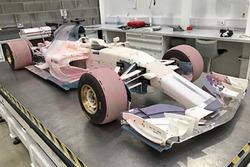 2017 Manor Racing windtunnel model