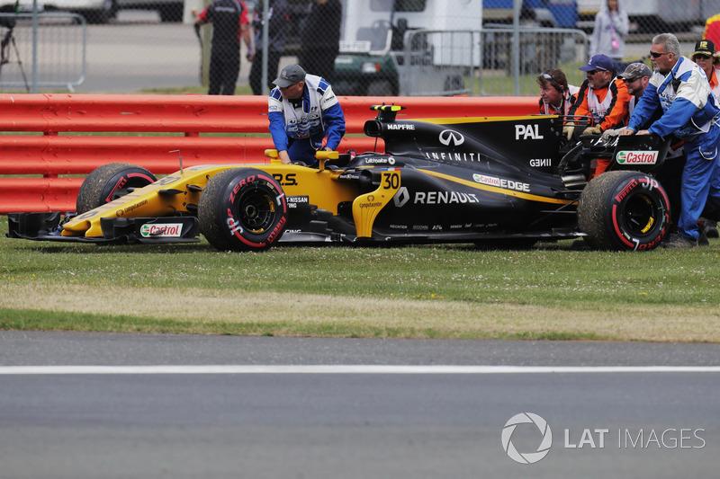 17 місце — Джоліон Палмер (Британія, Renault) — коефіцієнт 2001,00