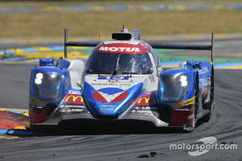 #13 Vaillante Rebellion Racing Oreca 07 Gibson: Mathias Beche, David Heinemeier Hansson, Nelson Piquet Jr.