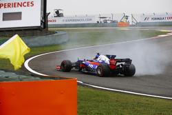 Карлос Сайнс-мол., Scuderia Toro Rosso STR12, розворот