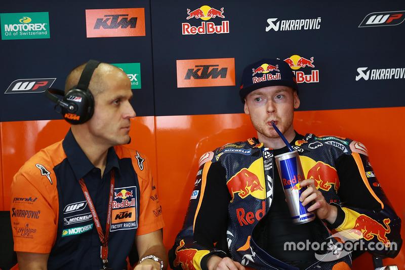 Bradley Smith, Red Bull KTM Factory Racing's garage