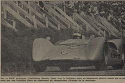 Tribune de Lausanne, article, Dieter Quester, BMW