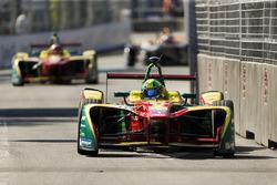 Lucas di Grassi, ABT Schaeffler Audi Sport, leads Daniel Abt, ABT Schaeffler Audi Sport