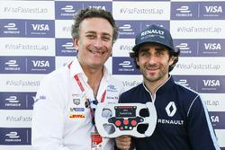 Алехандро Агаг, руководитель Formula E Holdings, и Николя Прост, Renault e.Dams