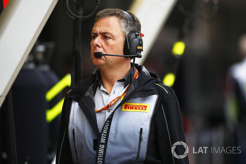 Mario Isola, manager de Pirelli Motorsport