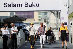 Nico Hulkenberg, Renault Sport F1 Team, Kai Ebel, RTL Presenter