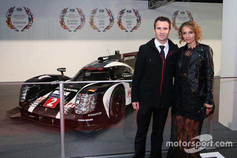 Ромен Дюма с женой Элизией