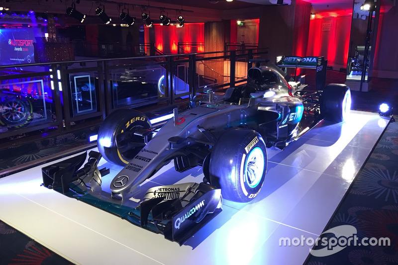 El auto ganador de Mercedes AMG F1 de Nico Rosberg
