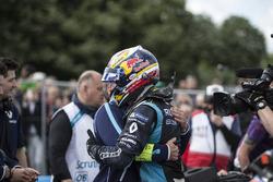 Alain Prost congratulates Sébastien Buemi, Renault e.Dams