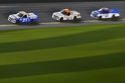 Johnny Sauter, GMS Racing, Chevrolet; Kaz Grala, GMS Racing, Chevrolet