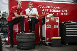 Thomas Biermaier, ABT Schaeffler Audi Sport und Dieter Gass, Sportchef Audi Sport