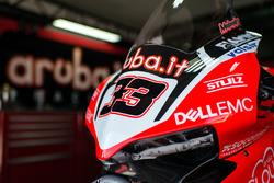 Bike of Marco Melandri, Ducati Team