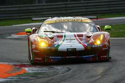№71 AF Corse Ferrari 488 GTE: Давиде Ригон, Сэм Бёрд