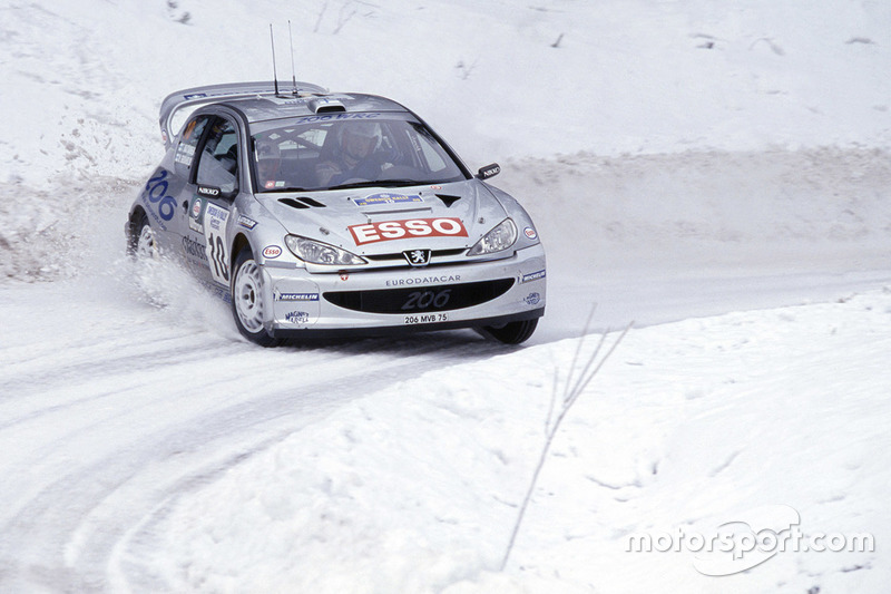 Marcus Grönholm, Timo Rautiainen, Peugeot 206 WRC